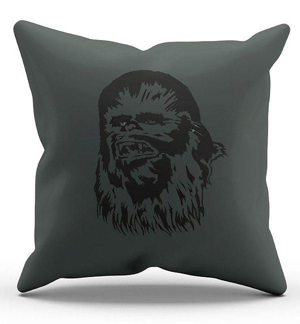 Almofada Decorativa  Chewbacca 45x45 - Nerd e Geek - Presentes Criativos