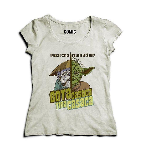 Camiseta Feminina Star Wars Bota Casaca