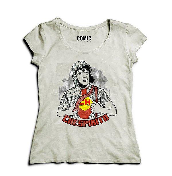 Camiseta Feminina Chaves Chespirito - Nerd e Geek - Presentes Criativos