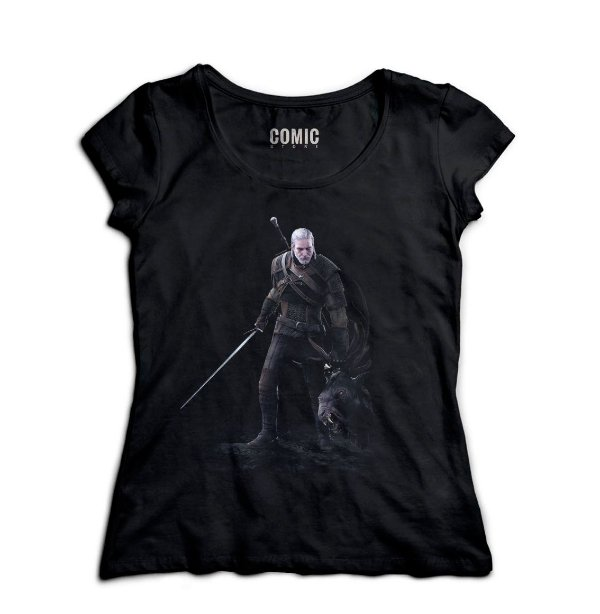 Camiseta Feminina The Witcher 3
