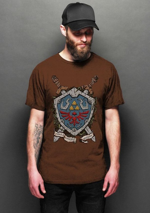Camiseta Masculina   Legend of Zelda - Nerd e Geek - Presentes Criativos