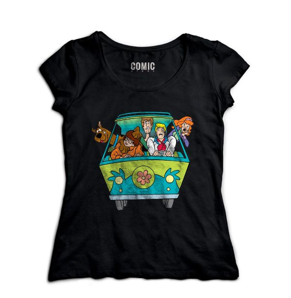 Camiseta Feminina Scooby Doo - Nerd e Geek - Presentes Criativos