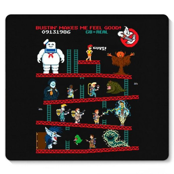 Mouse Pad Caça-Fantasmas - Nerd e Geek - Presentes Criativos