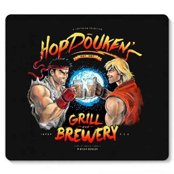 Mouse Pad Street Fighter - Nerd e Geek - Presentes Criativos