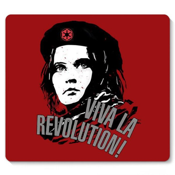 Mouse Pad Viva LA Revolution - Nerd e Geek - Presentes Criativos
