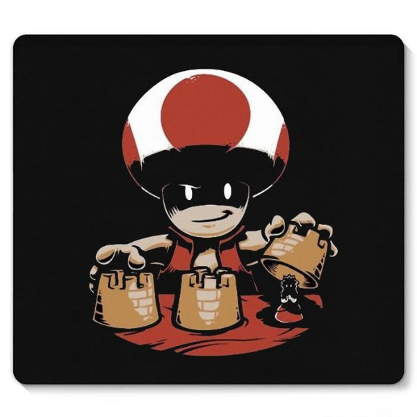 Mouse Pad Toad - Nerd e Geek - Presentes Criativos