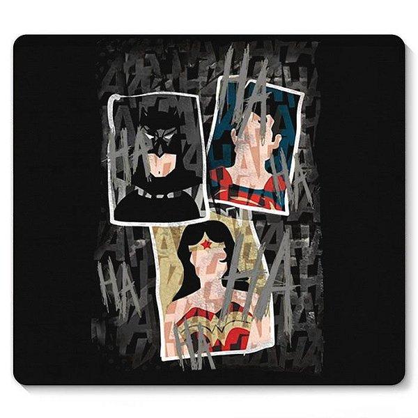 Mouse Pad Mulher Marvilha e Batman