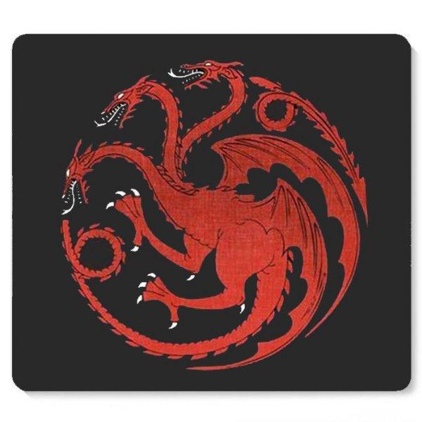 Mouse Pad Game of Thrones - Nerd e Geek - Presentes Criativos