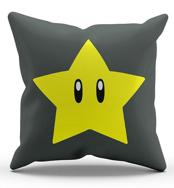 Almofada Super Mario Estrela 45x45