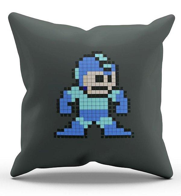 Almofada Decorativa  Megaman 45x45 - Nerd e Geek - Presentes Criativos