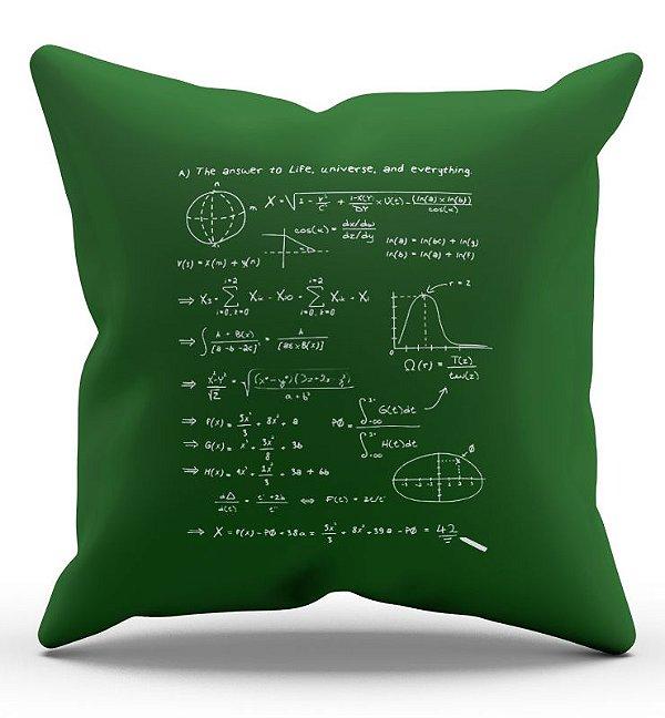 Almofada Decorativa  Formula Universe - Nerd e Geek - Presentes Criativos