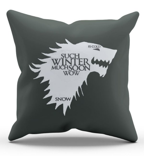 Almofada Decorativa  Game of Thrones 45x45 - Nerd e Geek - Presentes Criativos