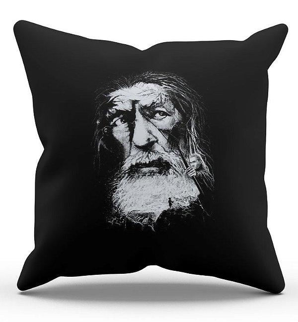 Almofada Decorativa  Gandalf 45x45 - Nerd e Geek - Presentes Criativos