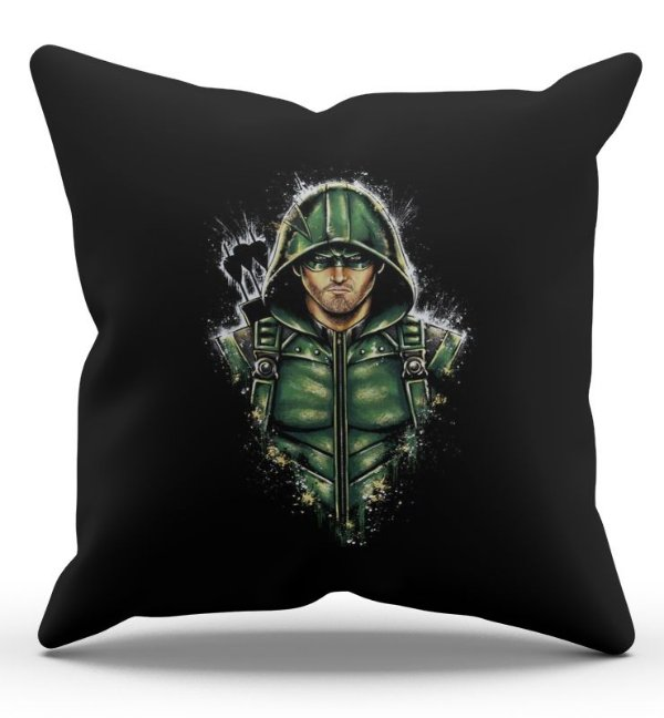 Almofada Decorativa  Arrow 45x45 - Nerd e Geek - Presentes Criativos