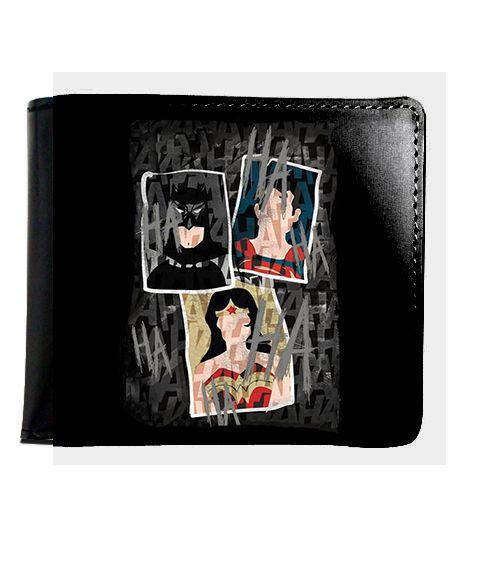 Carteira Mulher Maravilha e Batman - Nerd e Geek - Presentes Criativos