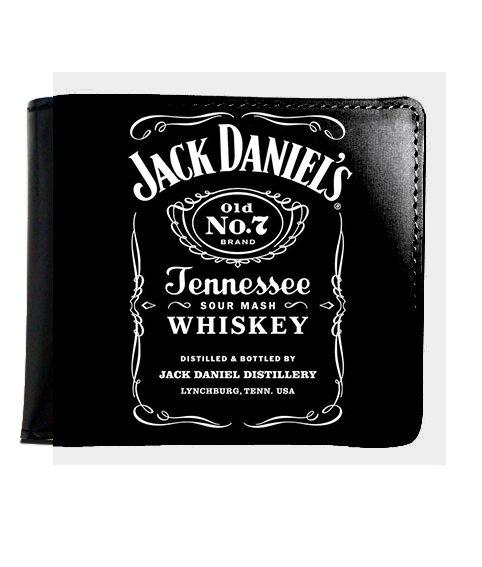 Carteira Jack Daniels - Nerd e Geek - Presentes Criativos