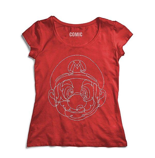 Camiseta Feminina Super Mario - Nerd e Geek - Presentes Criativos
