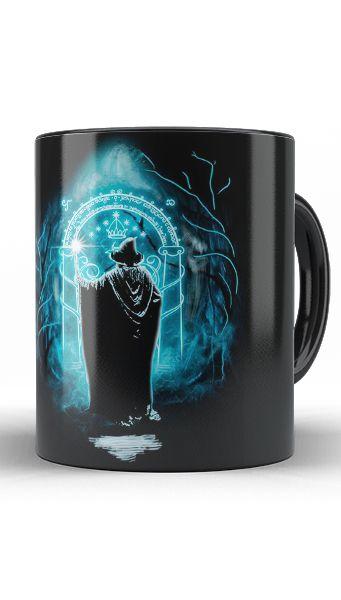 Caneca Gandalf - O Senhor dos Anéis - Nerd e Geek - Presentes Criativos