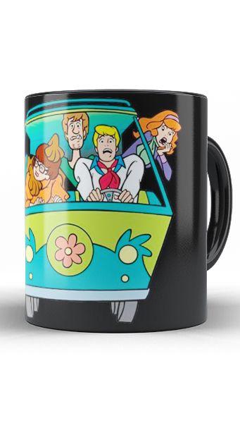 Caneca Scooby Doo - Nerd e Geek - Presentes Criativos