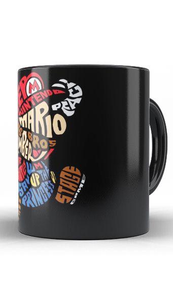 Caneca Super Mario Bros - Nerd e Geek - Presentes Criativos