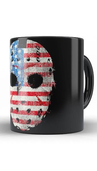 Caneca Jason - Nerd e Geek - Presentes Criativos