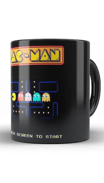 Caneca Pac-Man - Nerd e Geek - Presentes Criativos