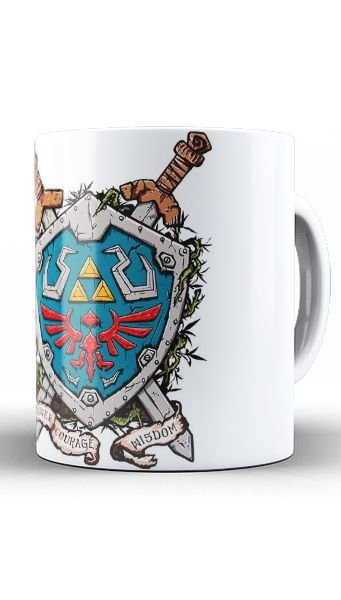 Caneca Link - Video Game