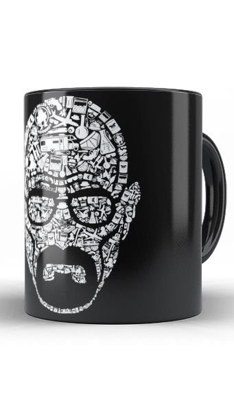 Caneca Breaking Bad - Walter White - Nerd e Geek - Presentes Criativos