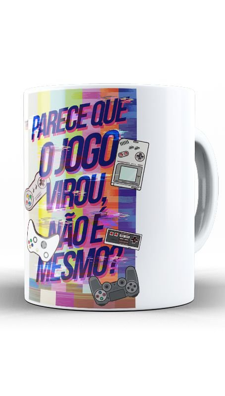 Caneca O Jogo - Nerd e Geek - Presentes Criativos