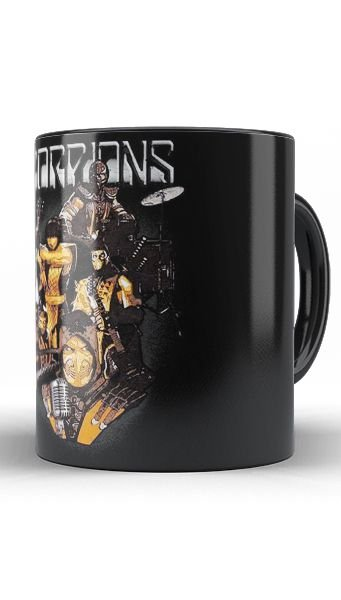 Caneca Scorpions Game - Nerd e Geek - Presentes Criativos