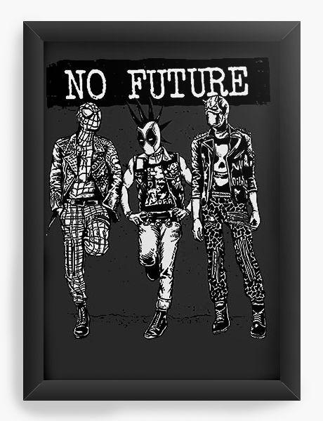 Quadro Decorativo No Future