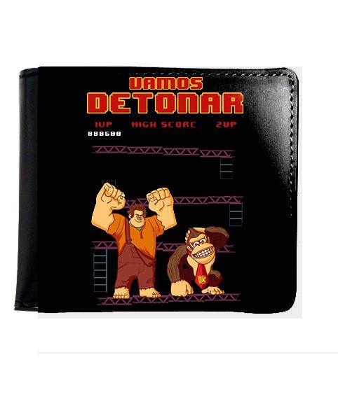 Carteira Donkey Kong - Nerd e Geek - Presentes Criativos