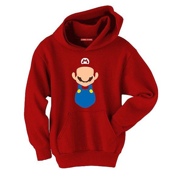 Blusa com Capuz Super Mario - Game