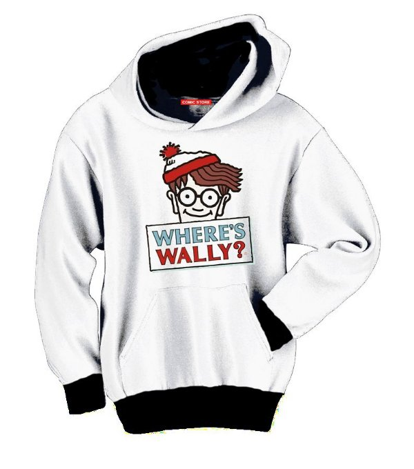 Blusa com Capuz Wally