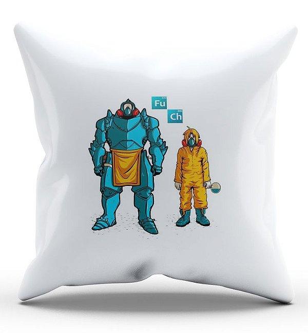 Almofada Decorativa  Fullmetal alchemist - Nerd e Geek - Presentes Criativos