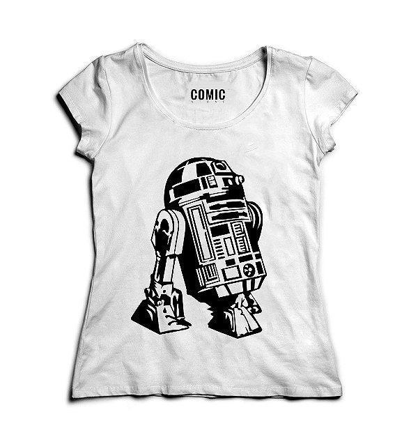 Camiseta Feminina R2-D2