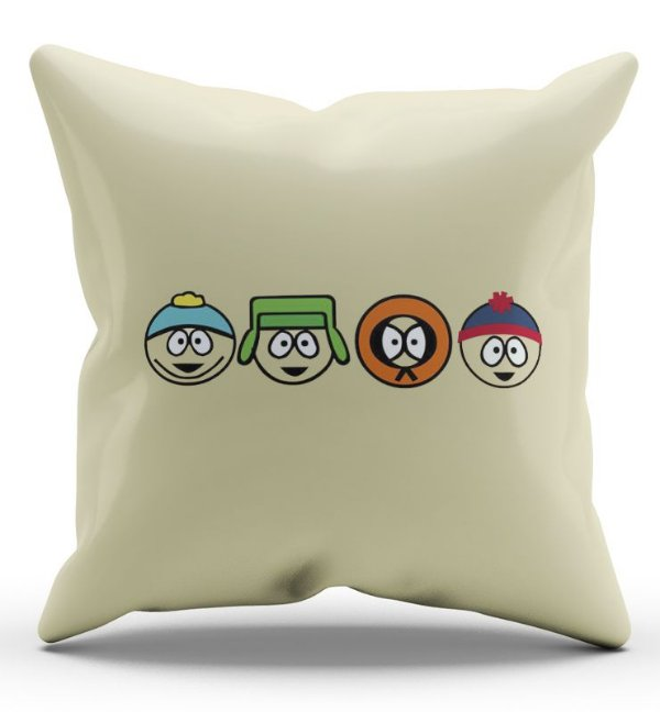 Almofada Decorativa  South Park - Nerd e Geek - Presentes Criativos