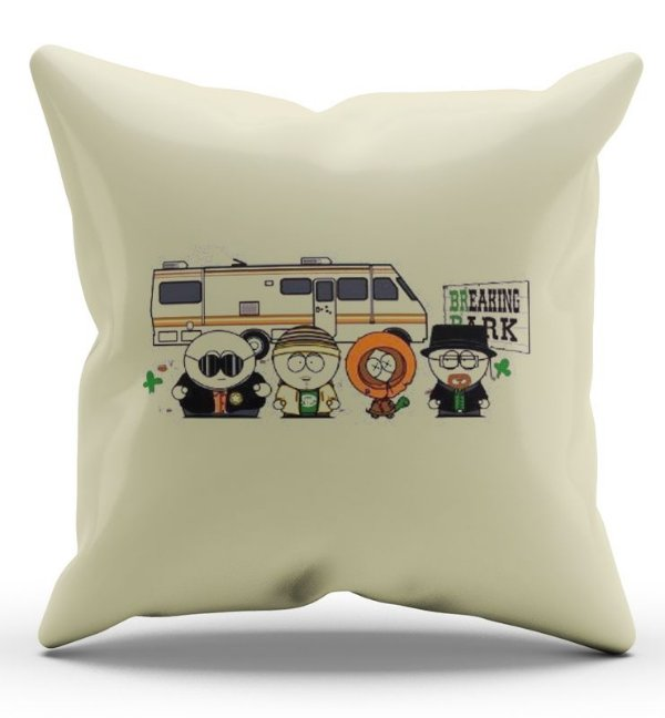 Almofada Decorativa  South Park Breaking - Nerd e Geek - Presentes Criativos