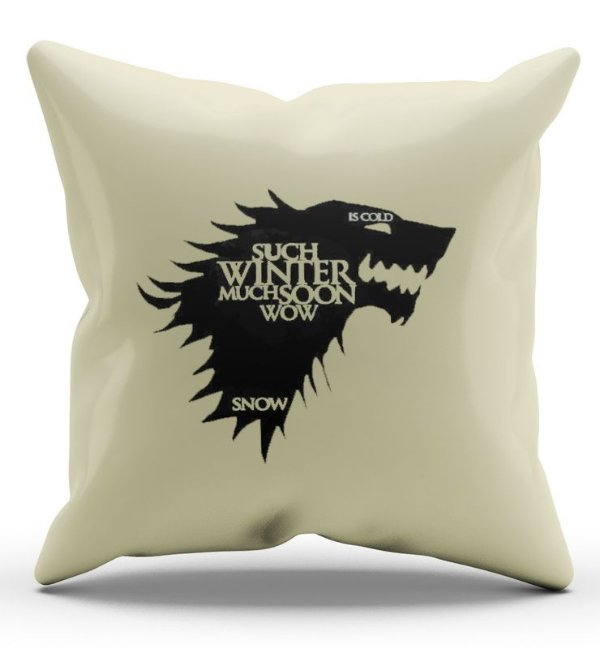 Almofada Decorativa  Game of Thrones 45 x 45 - Nerd e Geek - Presentes Criativos