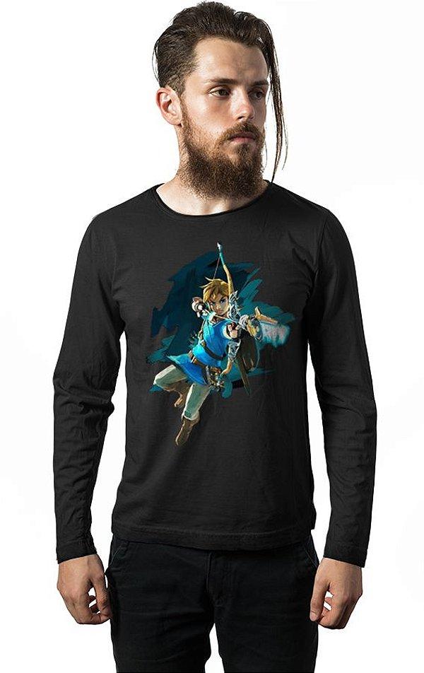 Camiseta Manga Longa Link - Zelda