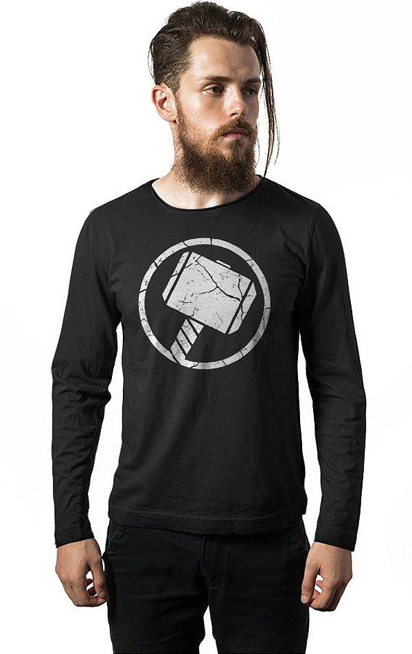 Camiseta Manga Longa Thor