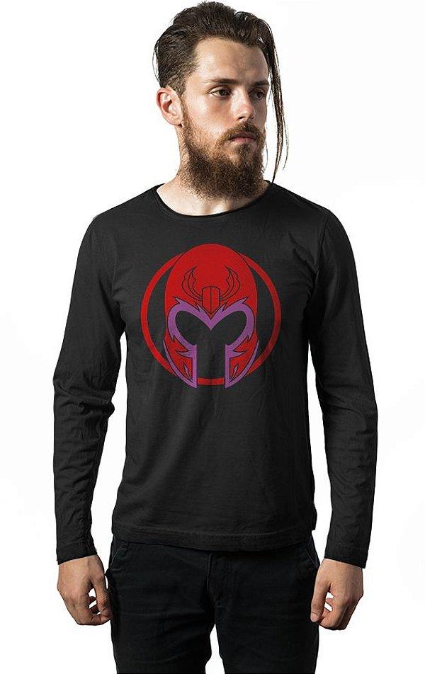 Camiseta Manga Longa Magneto