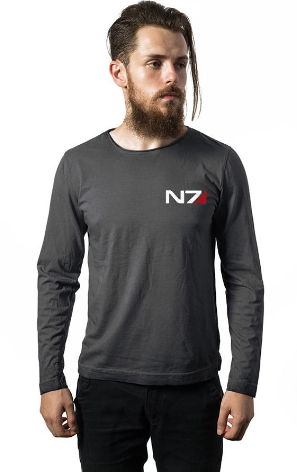 Camiseta Manga Mass Effect