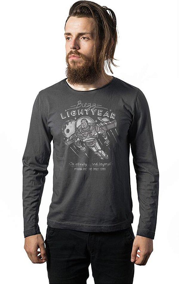 Camiseta Manga Longa Buzz Lightyear