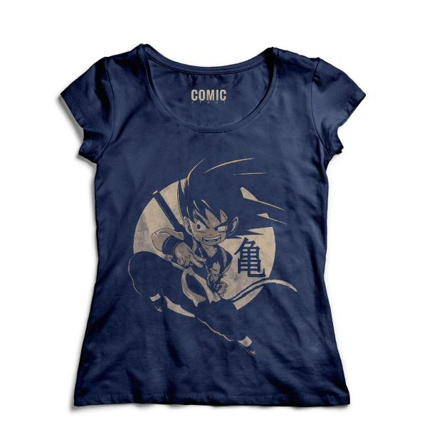 Camiseta Feminina Dragon Ball  - Nerd e Geek - Presentes Criativos