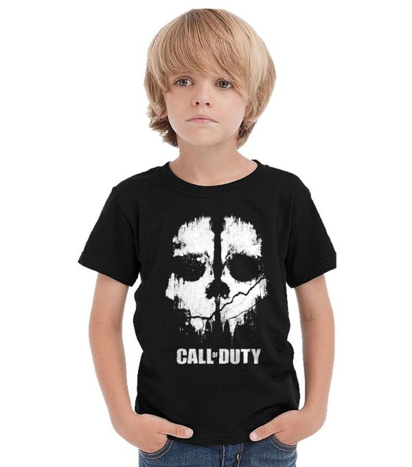 Camiseta Infantil Call of Duty - Nerd e Geek - Presentes Criativos