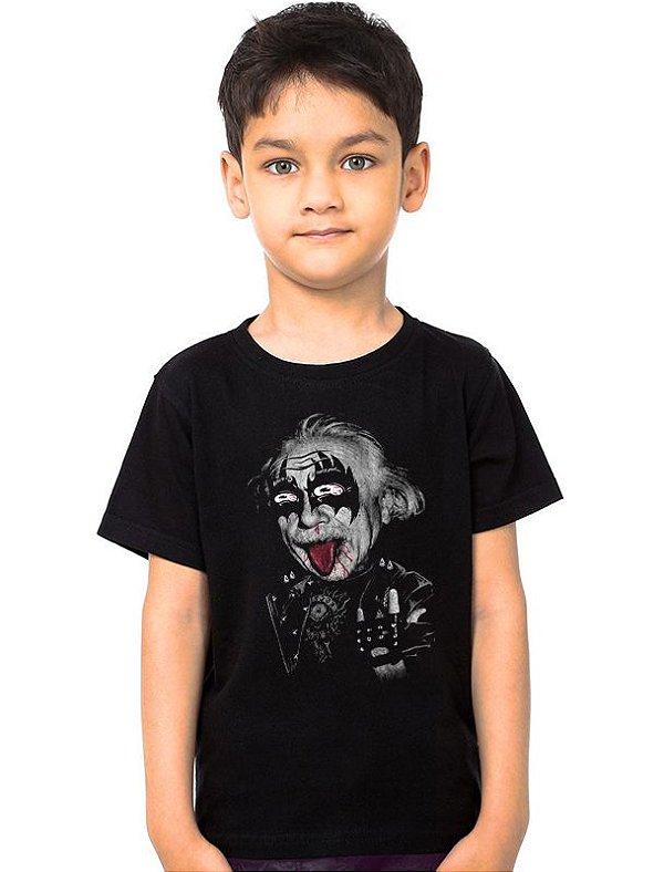 Camiseta Infantil Albert  - Nerd e Geek - Presentes Criativos