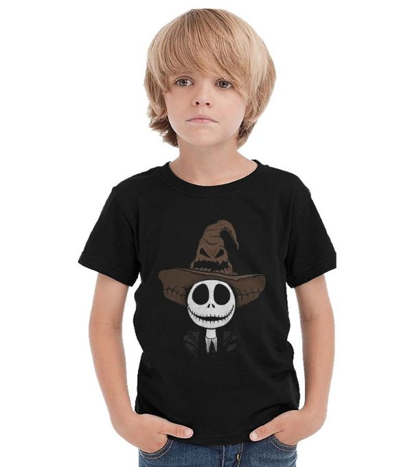Camiseta Infantil Jack Skellington - Nerd e Geek - Presentes Criativos