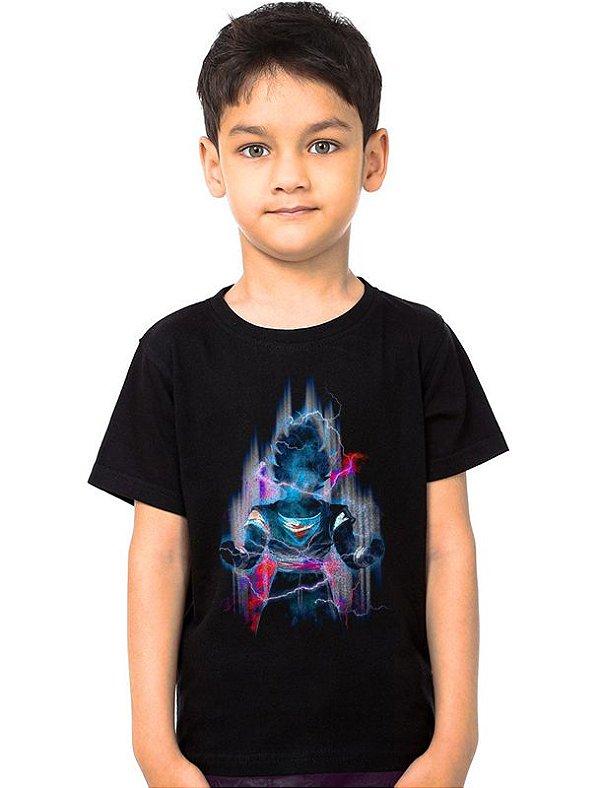 Camiseta Infantil Dragon Ball Z - Nerd e Geek - Presentes Criativos
