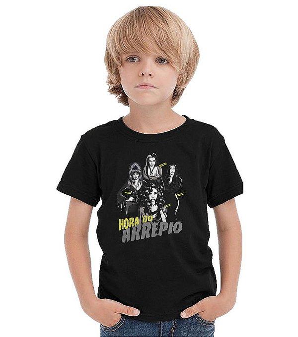 Camiseta Infantil Hora do Arrepio